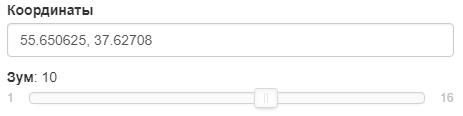 Изменение Яндекс карты на Платформе LP